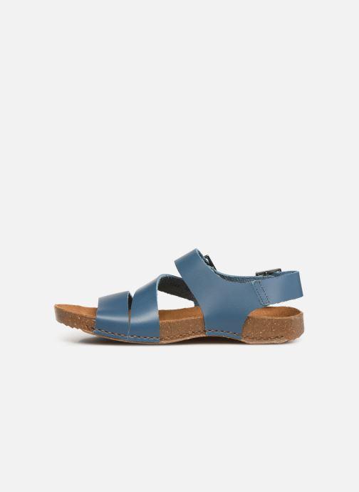 Sandals Art I Breathe 1049 Blue front view