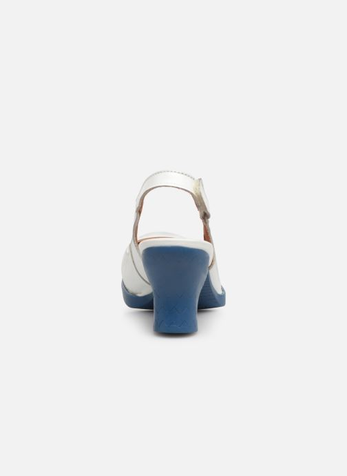 Zapatos de tacón Art Harlem 1066 Blanco vista lateral derecha