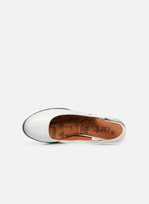 Zapatos de tacón Art Harlem 1066 Blanco vista lateral izquierda