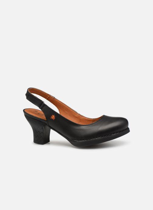 Zapatos de tacón Art Harlem 1066 Negro vistra trasera