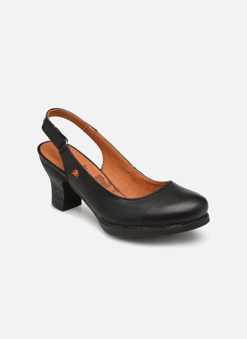Høje hæle Art Harlem 1066 Sort detaljeret billede af skoene