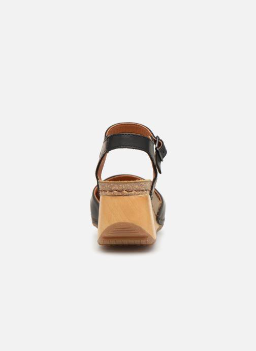 Sandali e scarpe aperte Art Borne 1328 Nero immagine destra