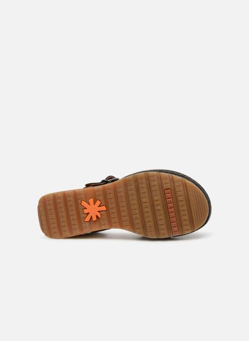 Sandali e scarpe aperte Art Borne 1328 Nero immagine dall'alto