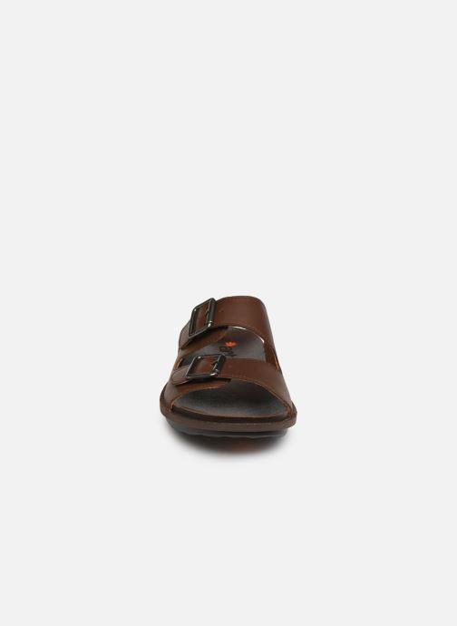 Sandales et nu-pieds Art I Explore 1370 Marron vue portées chaussures