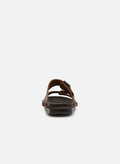 Sandales et nu-pieds Art I Explore 1370 Marron vue droite