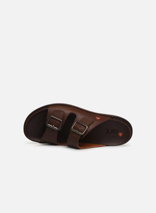 Sandales et nu-pieds Art I Explore 1370 Marron vue gauche