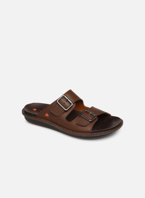 Sandales et nu-pieds Art I Explore 1370 Marron vue détail/paire
