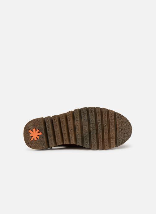 Chaussures à lacets Art Toronto 1407 Marron vue haut