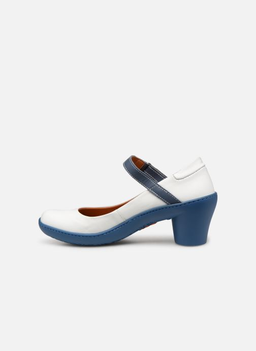 High heels Art Alfama 1447 White front view
