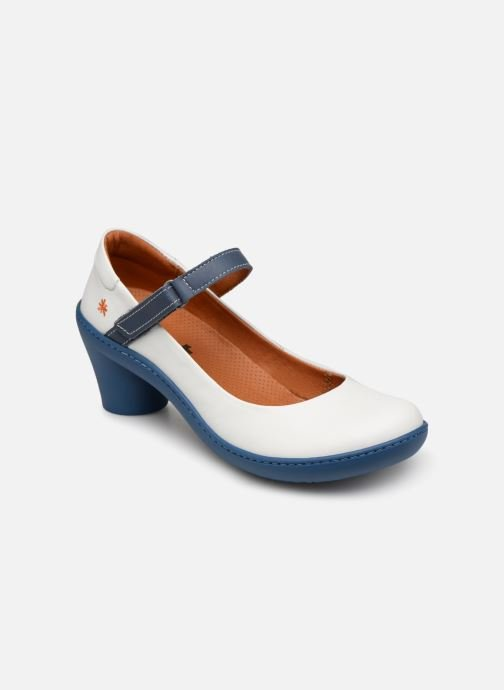 High heels Art Alfama 1447 White detailed view/ Pair view