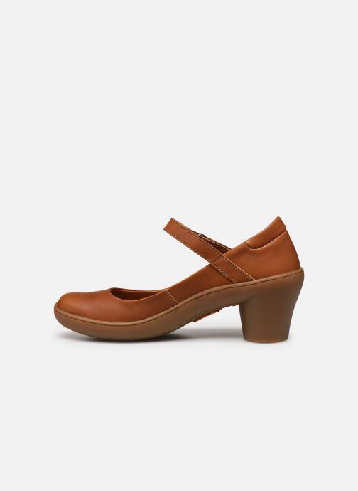 Zapatos de tacón Art Alfama 1447 Marrón vista de frente