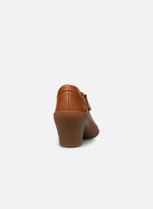 Zapatos de tacón Art Alfama 1447 Marrón vista lateral derecha