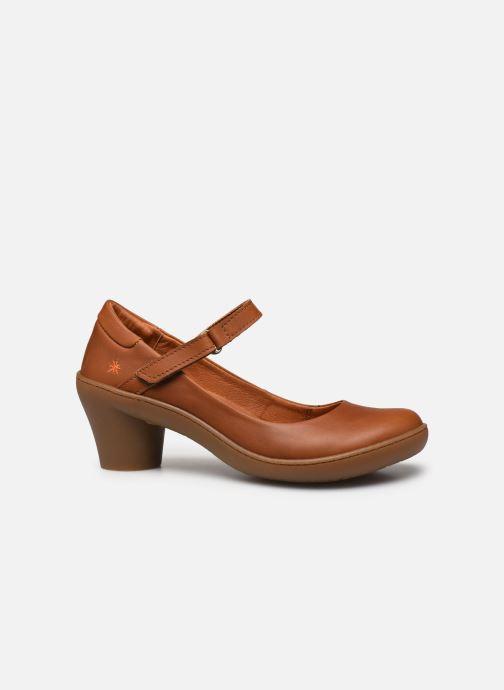 Zapatos de tacón Art Alfama 1447 Marrón vistra trasera
