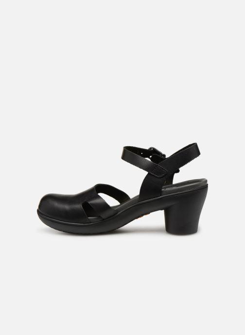 Sandalen Art Alfama 1470 schwarz ansicht von vorne