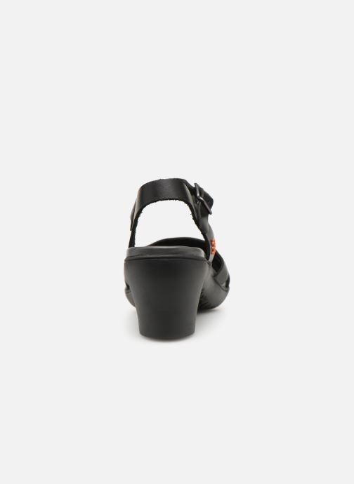 Sandalen Art Alfama 1470 schwarz ansicht von rechts
