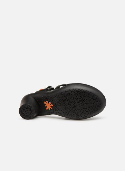 Sandalen Art Alfama 1470 schwarz ansicht von oben