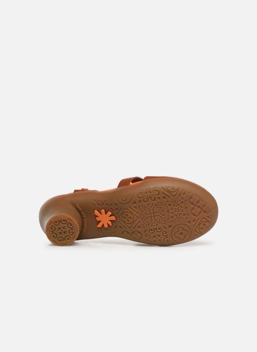 Sandalen Art Alfama 1470 braun ansicht von oben