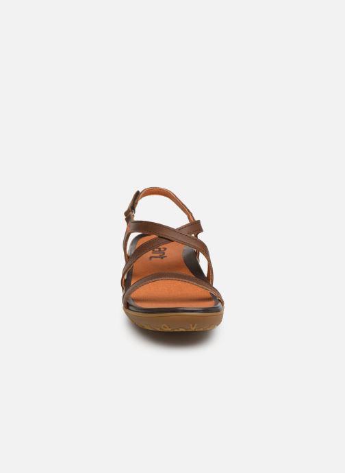 Sandalen Art Antibes 1500 braun schuhe getragen