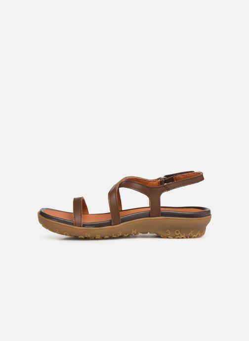 Sandalen Art Antibes 1500 braun ansicht von vorne