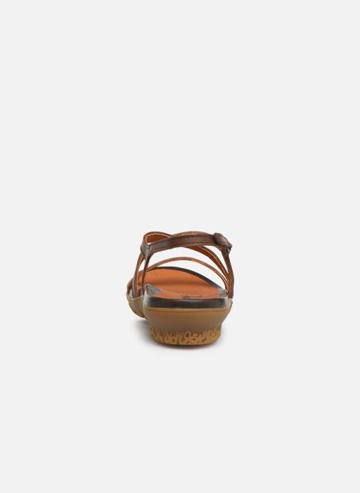 Sandalen Art Antibes 1500 braun ansicht von rechts
