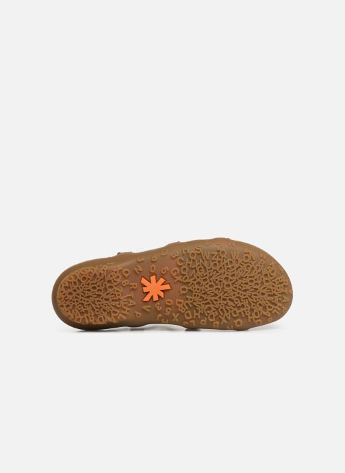 Sandalen Art Antibes 1500 braun ansicht von oben