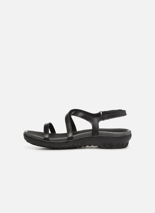 Sandales et nu-pieds Art Antibes 1500 Noir vue face