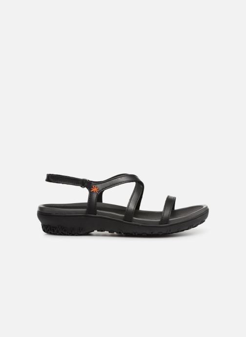 Sandales et nu-pieds Art Antibes 1500 Noir vue derrière