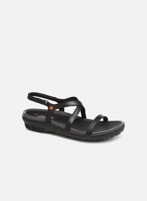 Sandales et nu-pieds Art Antibes 1500 Noir vue détail/paire