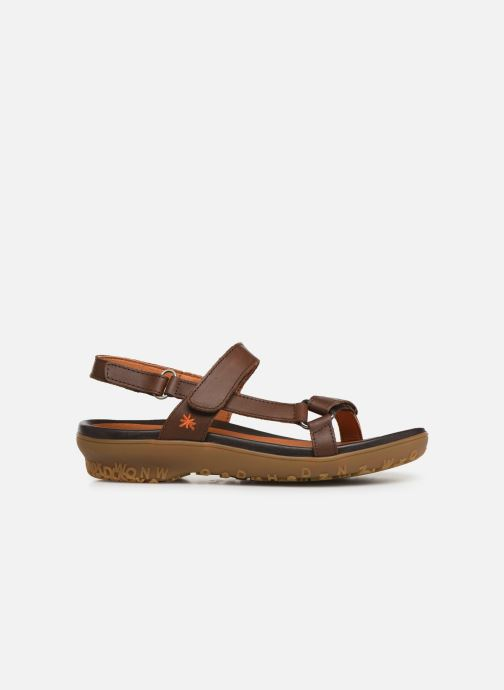 Sandals Art Antibes 1502 Brown back view