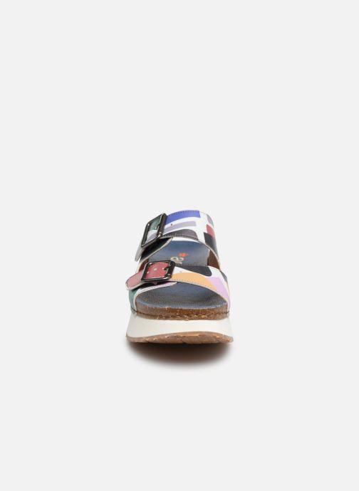Mules et sabots Art Mykonos 1265F Multicolore vue portées chaussures