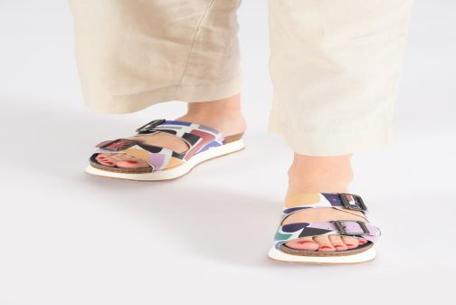 Mules & clogs Art Mykonos 1265F Multicolor view from underneath / model view