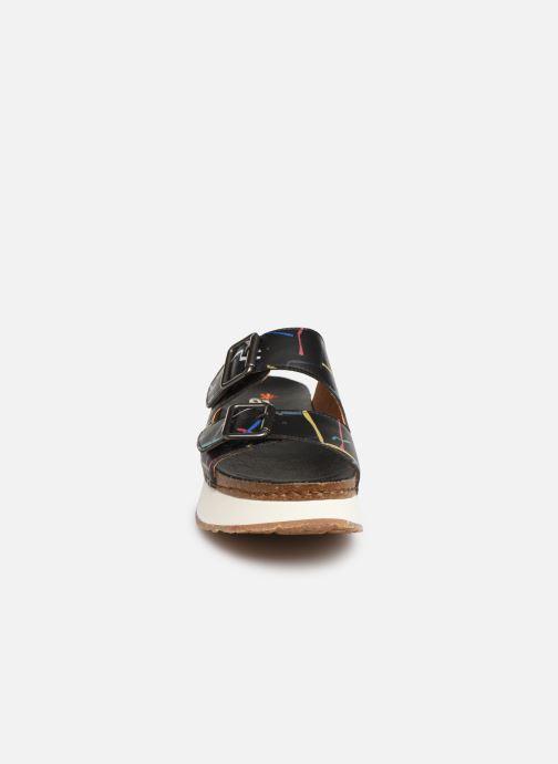 Mules et sabots Art Mykonos 1265F Noir vue portées chaussures
