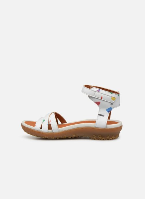 Sandals Art Antibes 1503F White front view