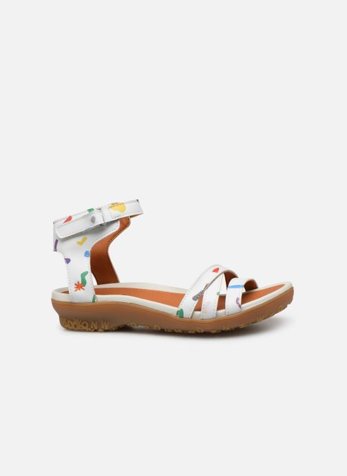Sandals Art Antibes 1503F White back view