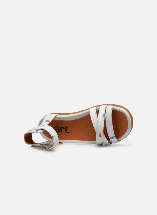 Sandaler Art Antibes 1503F Vit bild från vänster sidan