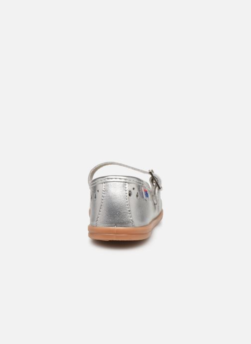 Ballet pumps Osito by Conguitos Adella Silver view from the right