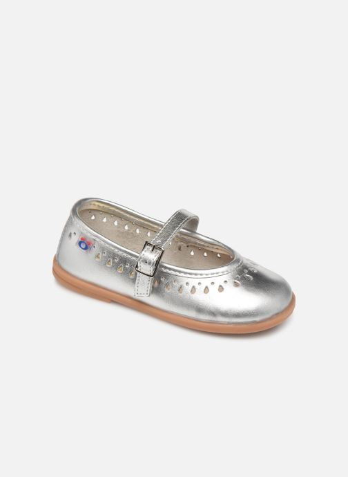 Ballet pumps Osito by Conguitos Adella Silver detailed view/ Pair view