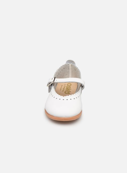 Ballerines Osito by Conguitos Amada Blanc vue portées chaussures