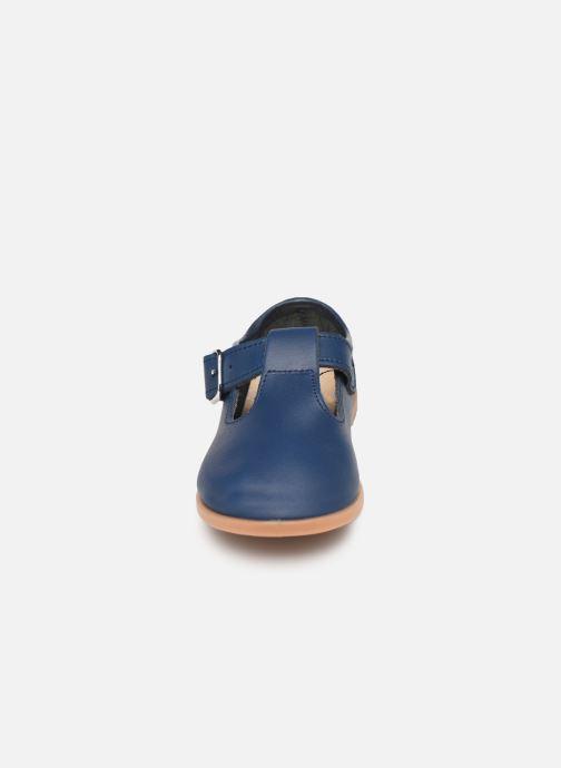 Ballerines Osito by Conguitos Luz Bleu vue portées chaussures