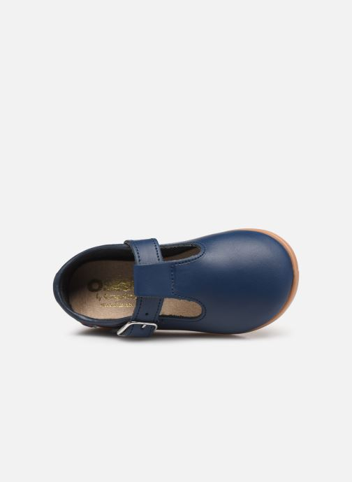 Ballet pumps Osito by Conguitos Luz Blue view from the left