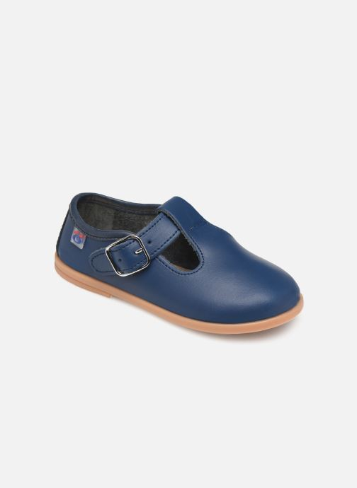 Ballet pumps Osito by Conguitos Luz Blue detailed view/ Pair view