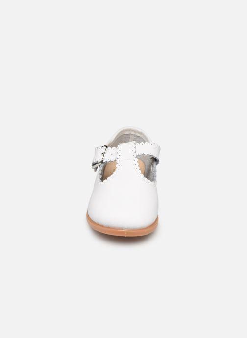 Ballerines Osito by Conguitos Loretta Blanc vue portées chaussures