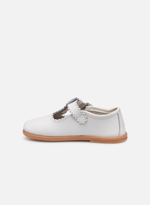 Ballet pumps Osito by Conguitos Loretta White front view