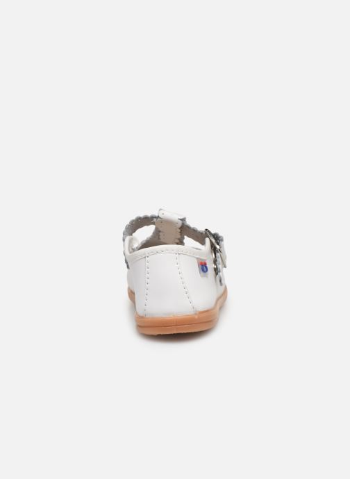 Ballet pumps Osito by Conguitos Loretta White view from the right