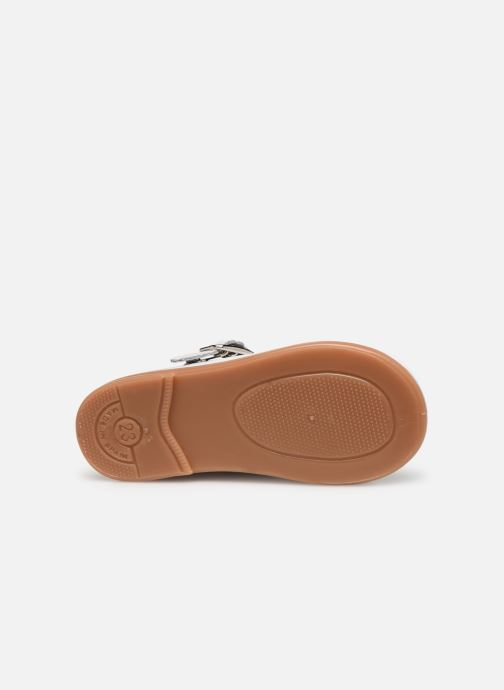 Ballet pumps Osito by Conguitos Loretta White view from above