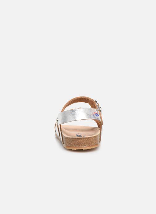 Sandalen Osito by Conguitos Maritza silber ansicht von rechts