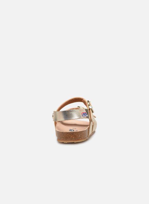 Sandales et nu-pieds Osito by Conguitos Xiomara Or et bronze vue droite