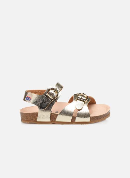 Sandales et nu-pieds Osito by Conguitos Xiomara Or et bronze vue derrière