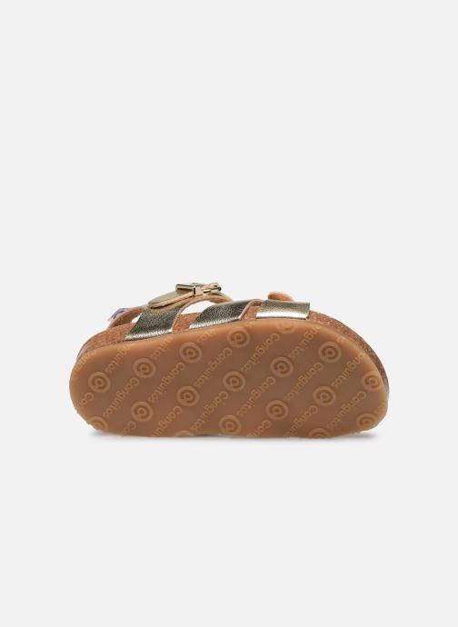 Sandales et nu-pieds Osito by Conguitos Xiomara Or et bronze vue haut