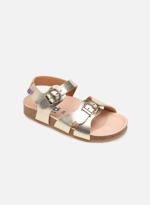 Sandales et nu-pieds Osito by Conguitos Xiomara Or et bronze vue détail/paire